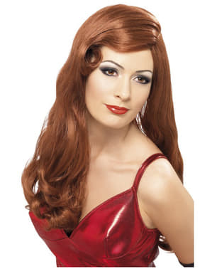 Jessica Rabbit Red перука