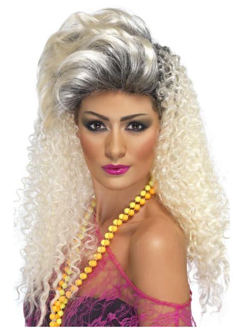 80s Blonde Wig