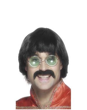 The Beatles Perücke mit Schnurrbart