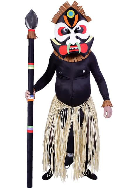 Костюм на мъж от племето Зулу