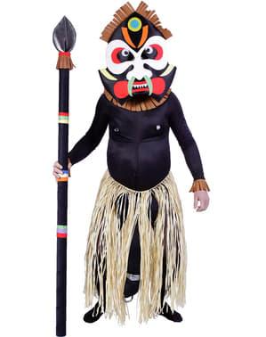Zulu kostuum