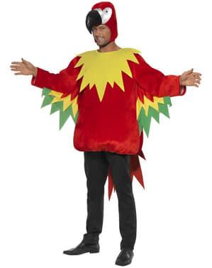 Deluxe Papegaai kostuum