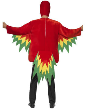 Kostým papoušek deluxe