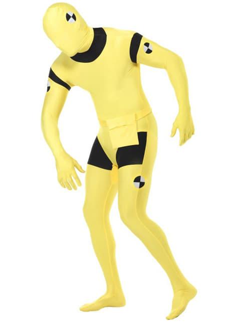 Crash Test Dummy tweede huid-kostuum