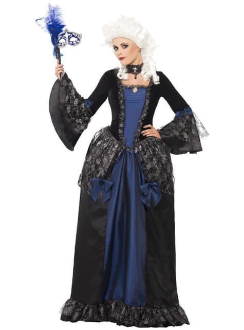 Dámsky kostým v barokovom štýle