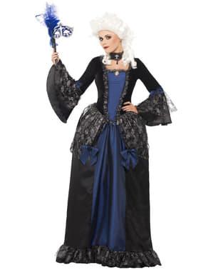 Kostim u baroknom stilu za žene
