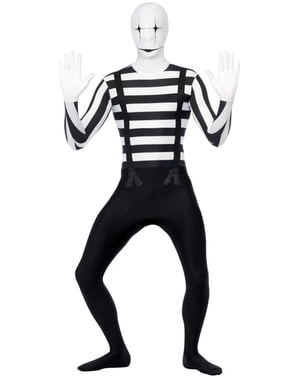 Skintight Mime Costume