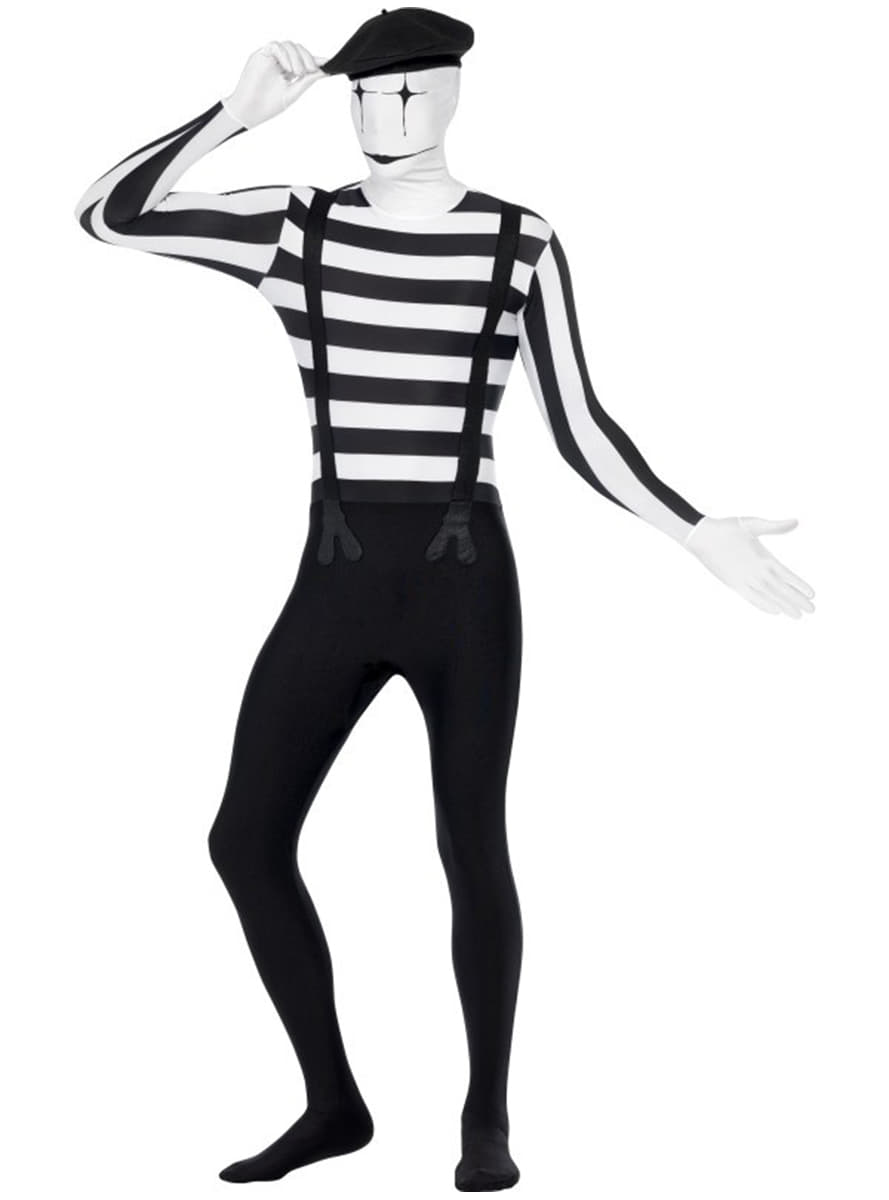 Skintight Mime Costume  sc 1 st  Funidelia : a mime costume  - Germanpascual.Com