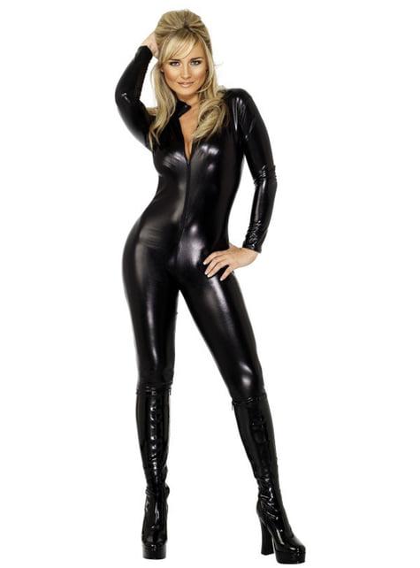 Disfraz de Miss látigo sexy - mujer
