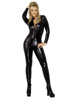 Sexet sort kostume