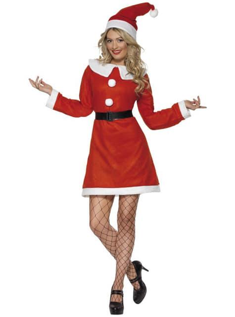 Deluks kostim Miss Santa