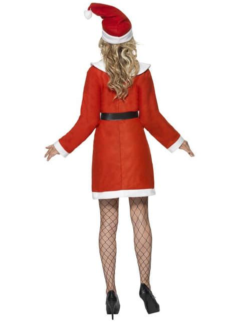 Disfraz de Miss Santa deluxe - mujer