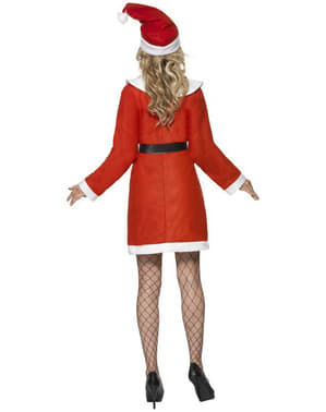 Fato de Miss Pai Natal deluxe