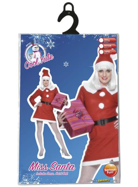 Disfraz de Miss Santa deluxe - original