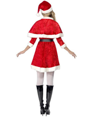 Miss Santa Costume with cape
