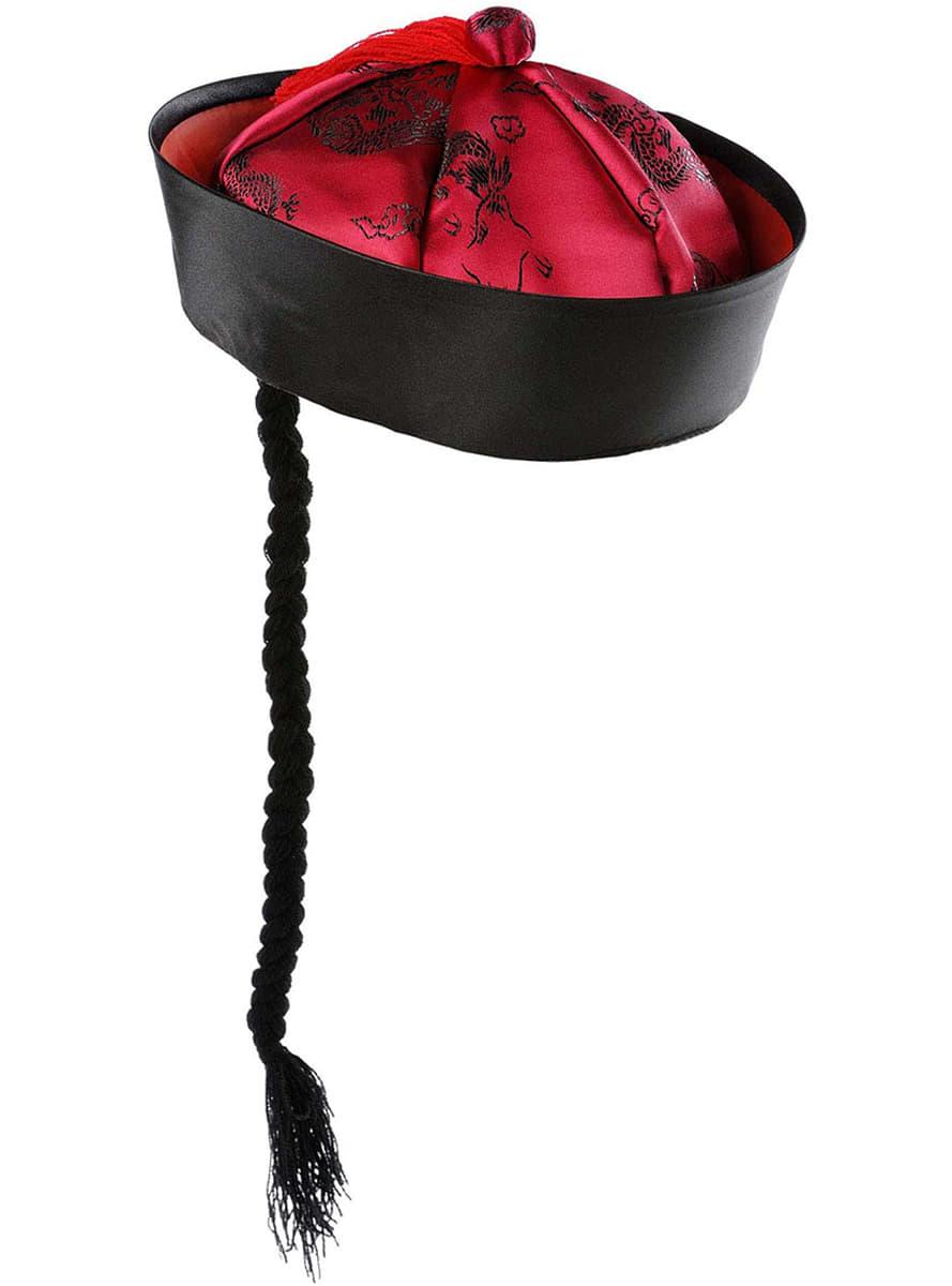 Chapeau chinois pour déguisement   Funidelia