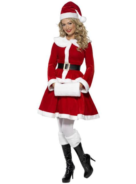 Disfraz de Miss Santa sexy deluxe