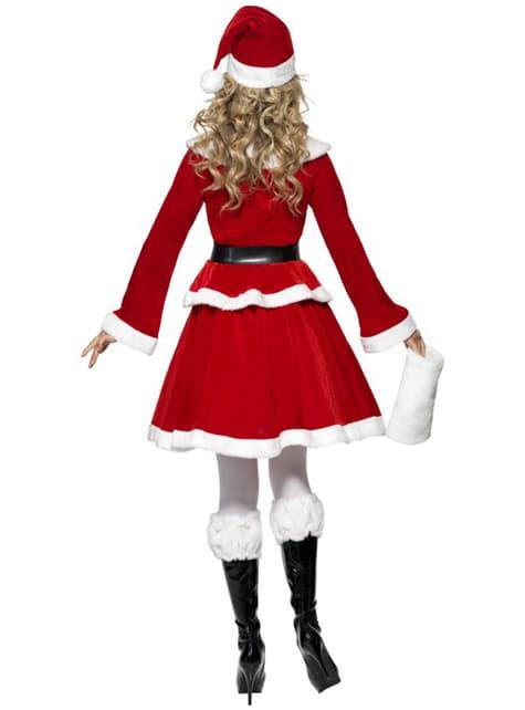 Sexy deluxe Miss Santa kostuum