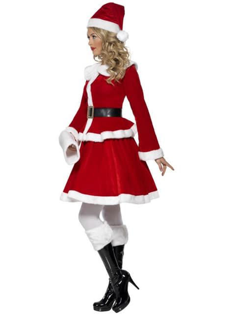 Fato de Miss Santa sexy deluxe
