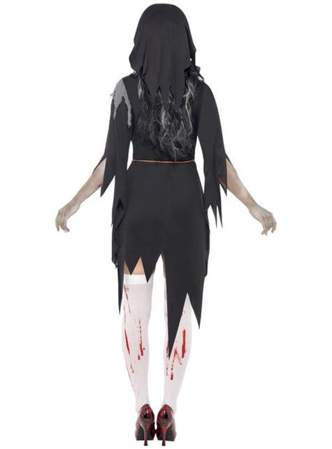Disfraz de monja zombie XL - mujer