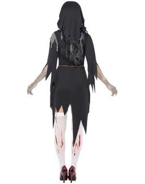 Disfraz de monja zombie XL