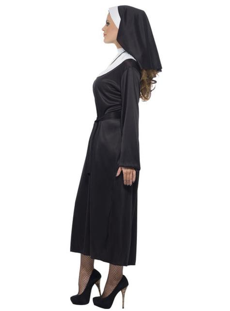 Disfraz de monja coqueta