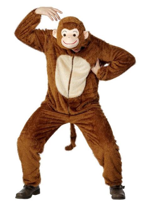 Costum de maimuță pentru adult