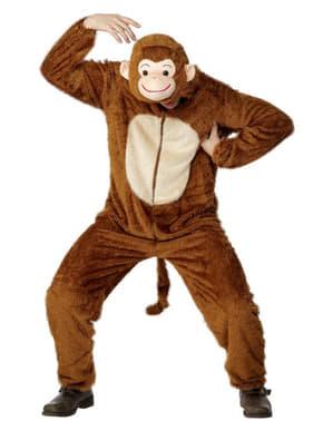 Grappige Aap kostuum voor volwassenen