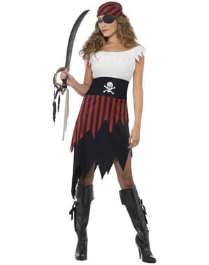 Piraat Kostuum voor vrouw