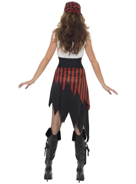 Pirat kostume til kvinder
