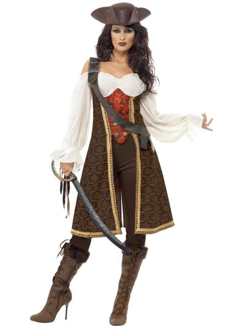 Good-looking High Seas Pirate Costume for Women