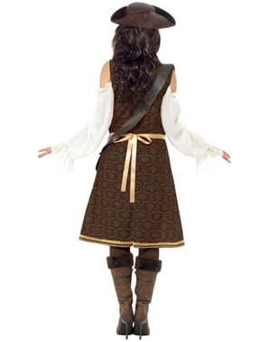 Pirat kostyme til dame