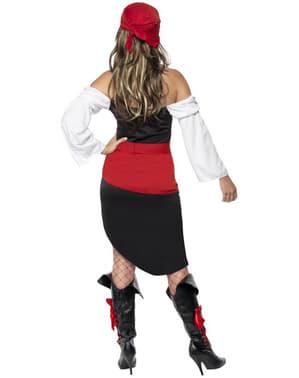 Flot frækt pirat kostume til kvinder
