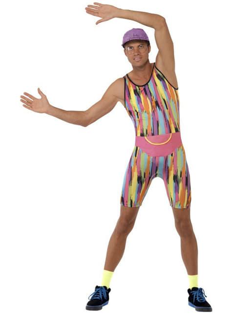 Мъжки костюм за спорт от 80-те