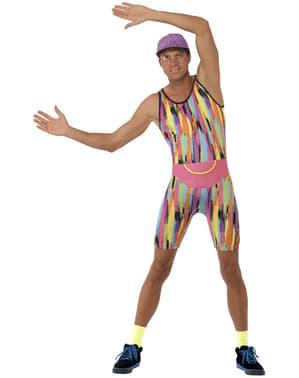 Costume Aerobic anni 80 per uomo