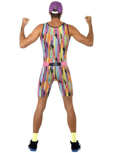 Kostim za vježbanje iz 80-ih za muškarce