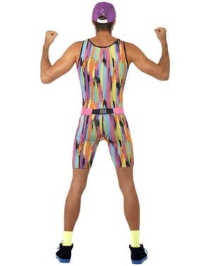 Disfraz Aerobic años 80 para hombre