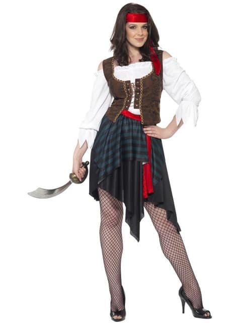 Déguisement de femme pirate