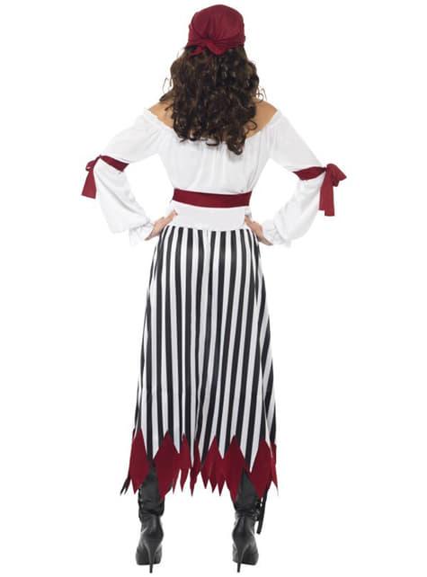 Disfraz de pirata guerrera - mujer