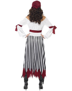 Pirat kriger kostume til kvinder