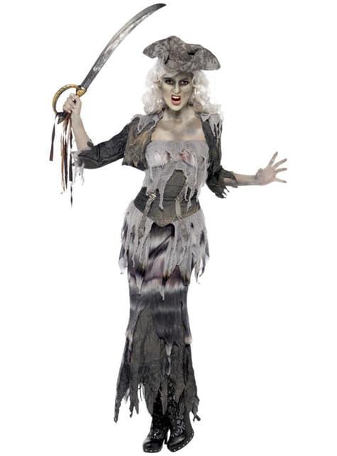 Ship Pirate Ghoul Costume