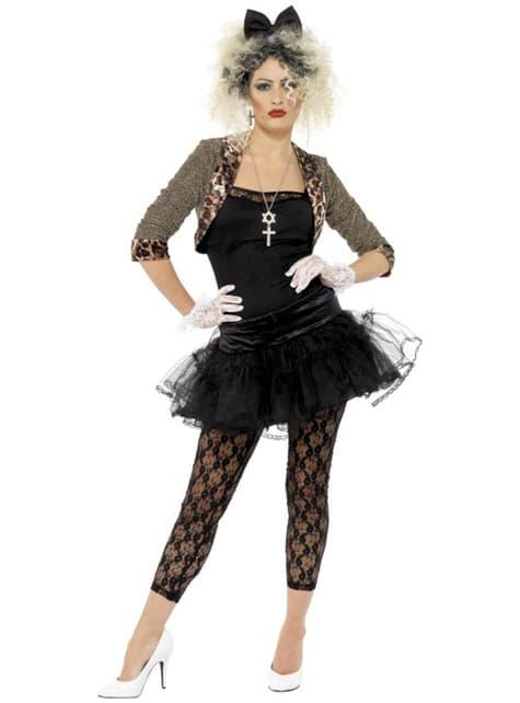 Disfraz años 80 para mujer
