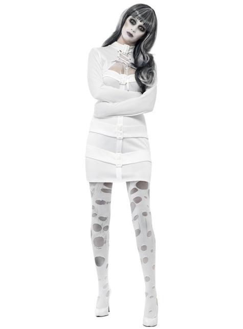 Disfraz de estudiante zombie psicótica