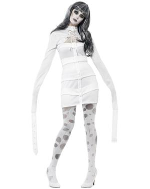 Psykotisk Zombie Elev Kostume