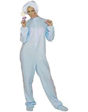 Costum de băiețel bebeluș cu suzetă