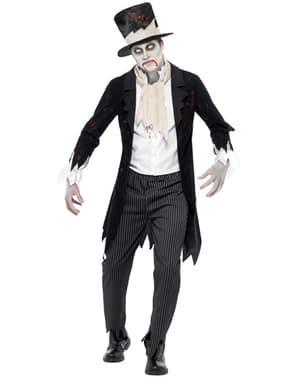 Zombie brudgum Maskeraddräkt