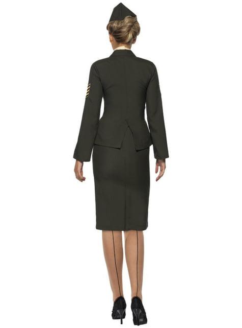 Disfraz de oficial de guerra para mujer - mujer