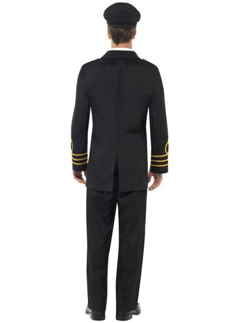 Man's Navy Officer Costume