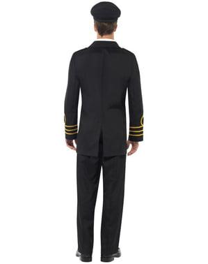 Pánsky kostým dôstojníka námorníctva