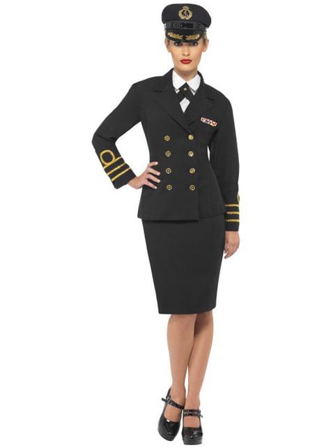 Mariene Officier kostuum voor vrouw